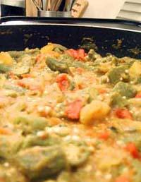 Bhindi Masala (Spicy Okra)